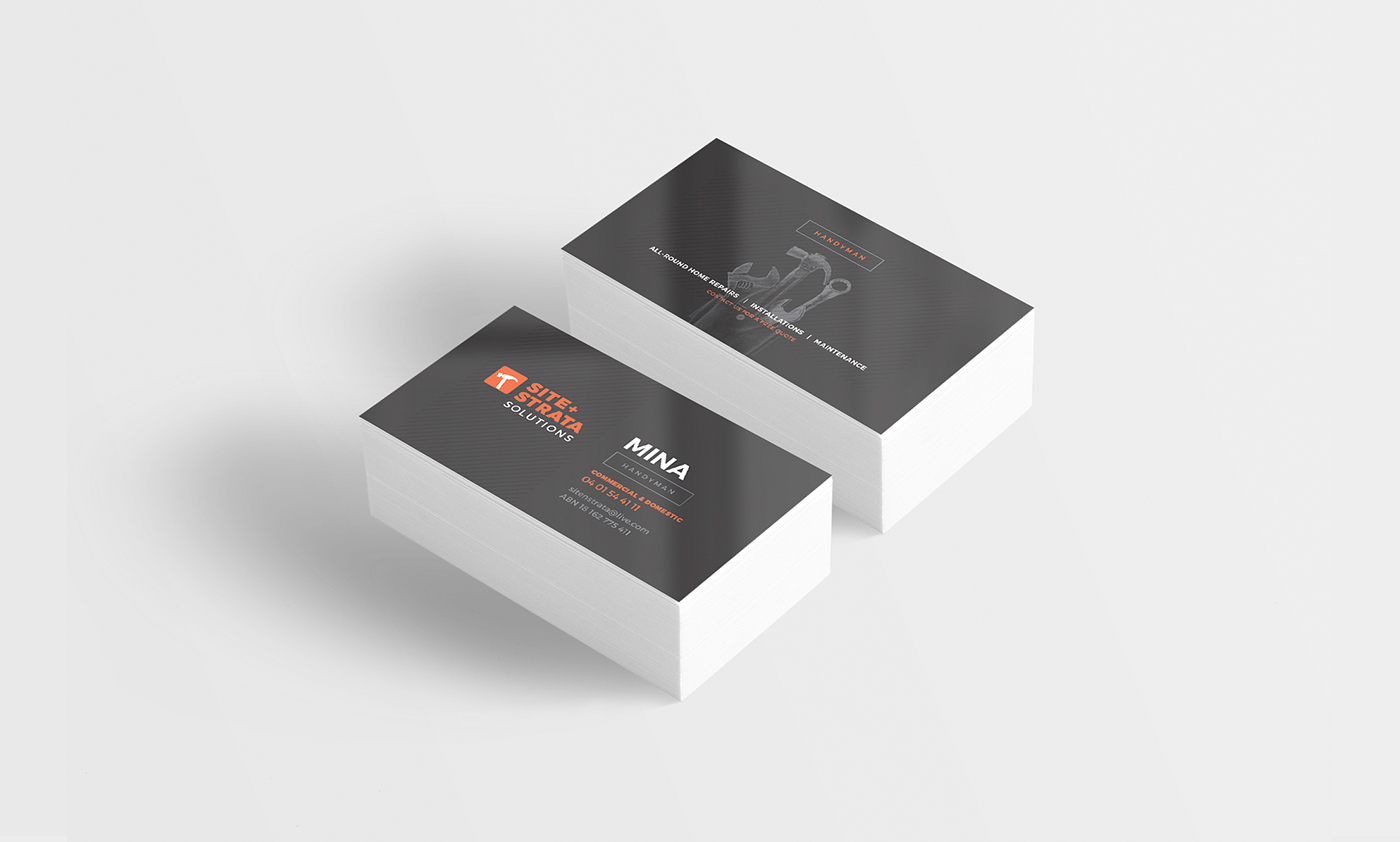 new business cards Perth
